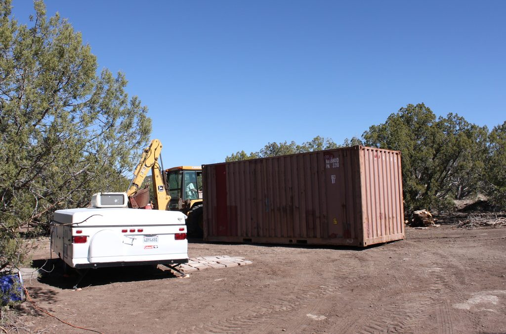 8. A Shipping Container for a Barn